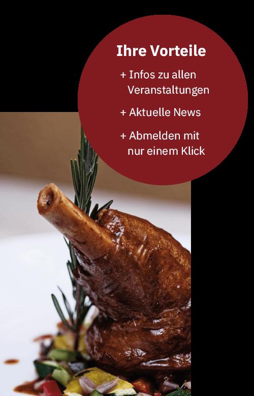 Newsletter Anmeldung Backöfele